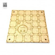 "Tile 6"". CITY 3000 - Square C"