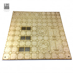 "Tile 12"". CITY 3000 - Square B"