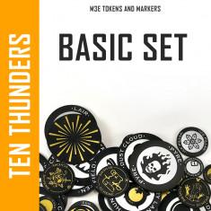 Ten Thunders Basic Markers Set for M3E