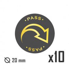 Pass Tokens x10 set